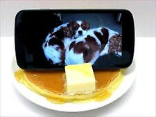Fake Food Plastic Sample Maple Hot Cake Smartphone Stand Made in Japan New