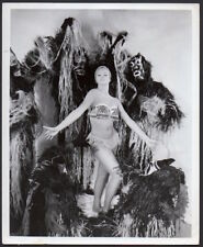 JULIET PROWSE leggy dancer jungle girl Eddie Fisher Broadway VINT ORIG PHOTO