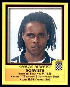 Panini Futebol 1999-2000 Boavista Carlos Alberto No. 31