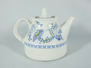 Vintage Retro Figgjo Norway Lotte Teapot Scandi Mid Century MCM Pottery 1056