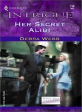 Her Secret Alibi (Silhouette Intrigue),Debra Webb