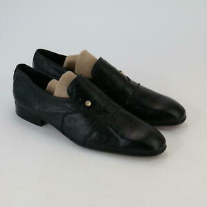 Leather Da Vinci Hand Made Formal Italian Shoes ~ Size UK 11 ~ Made In Italy
