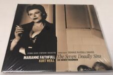 Marianne Faithful - The Seven Deadly Sins (CD) Sealed! Brand New