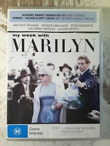 My Week With Marilyn DVD 2011_Michelle Williams_Kenneth Branagh Movie