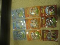 LEGO MIXELS Series 2 Complete/Full Set of 9 NEW 41509-41517 Flurr Slumbo Jawg