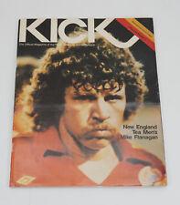 1978 Kick Magazine NASL Playoffs Round 1 Portland Timbers vs Vancouver Whitecaps