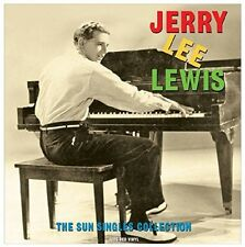 Jerry Lee Lewis - Sun Singles (Red Vinyl) [New Vinyl] Colored Vinyl, 180 Gram, R