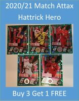 2020/21 Match Attax UEFA Cards - Hattrick Hero - Buy 3 Get 1 FREE Mbappe Haaland