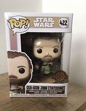 Funko Pop! Star Wars - Qui-Gon Jinn (Tatooine) #422Amazon Exclusive U.K.