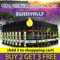 Essential Oils Pure & Natural Aromatherapy Diffuser Essential Oil Set 10ml