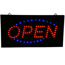 Ultra Bright Animated LED Light Open Business Bar Store Window Sign neon 19x10""