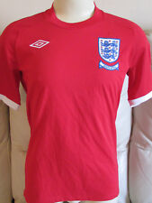 """England Red Away Shirt - 2010 World Cup South Africa - 40"""""""