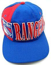 NEW YORK RANGERS vintage blue / red adjustable cap / hat - 100% wool - starter