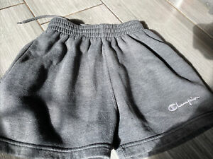 💙Boys CHAMPION Grey Sports Shorts, Size S, Approx Age 11-12, Excellent Cond