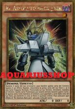 Yu-Gi-Oh Re Assoluto Back Jack PGL2-IT002 Gold Segreta ITA Absolute King Nuovo