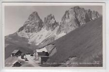 AK Passo Sella, Sellajoch, Rifugio Flora, Foto-AK 1935