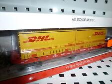 MEHANO 58863 Sgkkms698 DB Cargo mit 2x Jumbo Wechselpritsche DHL