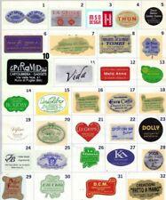 Etichette adesive carta oro argento trasparente pz 2500  NASTRO AUGURI OMAGGIO