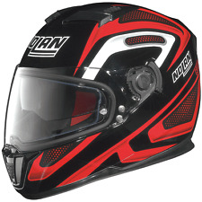 NOLAN N86 OVERTAKING RED / BLACK X-LARGE MOTORCYCLE HELMET * CLEARANCE SAVE £46