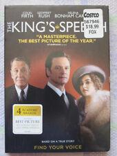 The King's Speech (DVD, 2011) - British History Colin Firth, Geoffrey Rush NEW