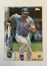 2020 Topps Bubba Starling RC Rookie Card 74