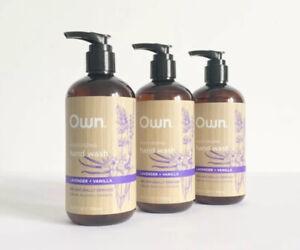 Own Moisturizing Hand Wash Lavender & Vanilla 3 Count 12 oz Each