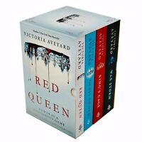 Victoria Aveyard 4 Books Collection Set Red Queen Series War Storm, Glass Sword