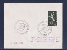 ec70/ Enveloppe   championnat du monde de hand ball  Bordeaux     1970