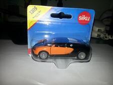 Siku Bugatti Veyron  Orange / Black 2 Tone (New & Sealed) 1:55 (Item # 1305)