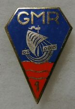 1 GMR - ORIGINAL Vintage FRENCH ARMY BADGE DISTINCTIVE UNIT INSIGNIA