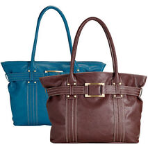 NEW BROWN  BUTLER BASICS Organizer TOTE BAG PURSE Jen Groover NWT