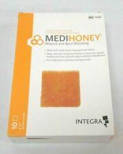 """Medihoney 31045 Calcium Alginate Wound & Burn Dressing 4"""" x 5"""" 10/Bx Exp 4/27/24"""