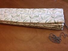 Laura Ashley Willow Leaf 3650503  Roman Blind MadeTo Measure All Cols