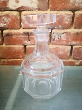 More details for vintage scandinavian mid century heavy kosta boda crystal glass decanter 24.5cms