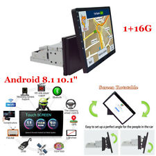 "Android 8.1 Bluetooth Car Stereo Nav GPS Radio Head Unit Mirror Link 1Din 10"""