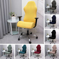 Swivel Computer Office Elastic Chair Cover Stretch Spandex Seat Home Decoration