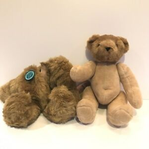 "VINTAGE VERMONT TEDDY BEAR ""BIRTHDAY SUIT BEAR"" HONEY COLOR 16"""