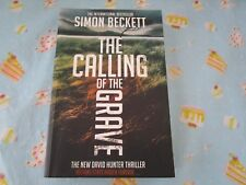 The Calling of the Grave -David Hunter thriller by Simon Beckett-trade paperback