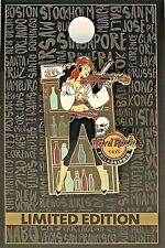 Hard Rock Cafe Philadelphia Pin Pirate Girl Violinist 2019 LE New # 507685