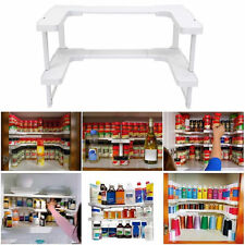 Kitchen Shelf Spicy Spice Racks Stackable Bottle Storage Cupboard Organizer New