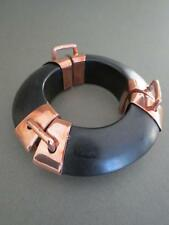 Vintage Danish Monies Gerda Lynggaard Ebony Bangle
