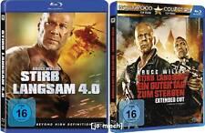 2 x STIRB LANGSAM: Stirb Langsam 4.0 und Ein Guter Tag Zum Sterben - 2 Blu Rays