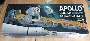 VTG 1967 Revell APOLLO LUNAR SPACECRAFT Model Kit H-1838:600 1/48 Scale