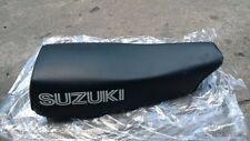 Suzuki TS125 TS125ER TS125ERD Seat Double Assy Black NOS Aftermarket