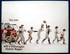 Prospekt brochure Volkswagen VW Transporter * Bulli * Station Wagon (USA, 1962)
