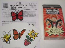 The Mischievous Butterfly Magic Trick - Close Up, Cards, Street, Walk Around