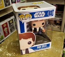 Funko POP Star Wars Han Solo Original Blue Box #03 Rare Retired Vaulted Series 1