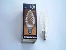 7 St. Paulmann Kerzenlampe gedreht rustika klar 552.40 40 Watt E14  230 V