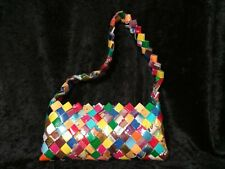 Candy Wrapper Purse, Handbag, Hand Made, Crafted