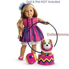 New American Girl Talent Show Outfit Set~Pet Accessory Pink Party Dress ShipFREE